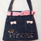 Blue Denim Princess Purse - PPbd