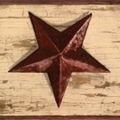 Antique White Barn Star Wall Border - CWG86186