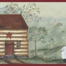 Cabin Sheep Wall Border - CWG16375
