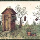 Rustic Outhouse Wall Border - CWG65022
