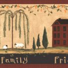 Friends & Family Village Wall Border - CWG90769