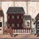 Houses & Stars Wall Border - CWG71111