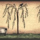 Willows & Sheep Wall Border - CWG71128