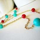 Blueberries & Cherries Necklace - UEbc