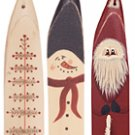Primitive Picket Ornaments 3/set - CWGP02716
