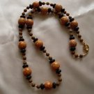 Wood Bead Necklace  - DZwb