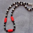 Cloissone Bead Necklace  - DZcl