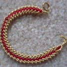 Red Jade Beaded Bracelet - DZrj