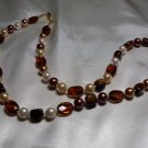 Amber Stone Necklace  - DZam