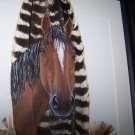 Horse Framed Feather Art - OWho