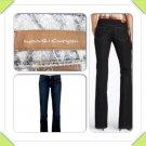 "Reduced! NWT Paige Premium Denim Boot Cut Laurel Canyon Dark Wash Denim Jeans 30"" X 34"""