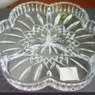 Signed Waterford Crystal Lismore Pattern Club Tray