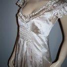 Nanette Lepore Pale Champagne  Silk Blouse Size 2