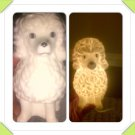 Working Vintage I.Rice Poodle Night Light & Scent Diffuser Made in Japan