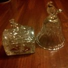 Trinket Box & Bell from Hofbauer Crystal's Byrdes Collection