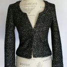 SALE New Banana Republic Black & White Lady Jacket Size 8