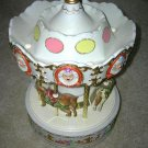 SALE!! Rare 1992 Melody in Motion Grand Carousel King of Clown Near Mint Condition