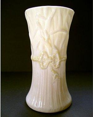 Vintage Belleek Typha Spill Vase