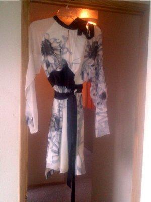 Vivienne Tam Silk Empire Waisted Wrap Dress Size 2 (Medium)