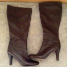 Banana Republic Tall Dark Brown Italian Leather Boots