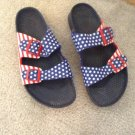 MEN'S BRAND NEW (No Box) US Flag BIRKENSTOCKS Men's 9 / Ladies 11
