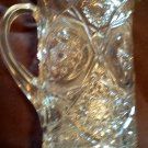 "Antique 1880s/1910 EAPG Cambridge Glass ""Near Cut"" ""Marjorie"" Lg. Pitcher"