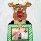 Reindeer Picture Frame Geen and White