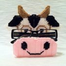 Peepers Eye Glass Holder - Cow