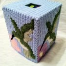 Tissue Box - Humming Bird  (double stitch)