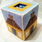 Tissue Box - House