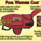 Dog Rain Coat - RED ~XS~