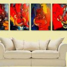 4 JAZZ PAINTING - chxhch GALLERY WRAPPED, CANVAS Styj