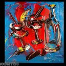 WINE original oil painting MODERN ABSTRACT CONTEMPORARY EWERTYJG