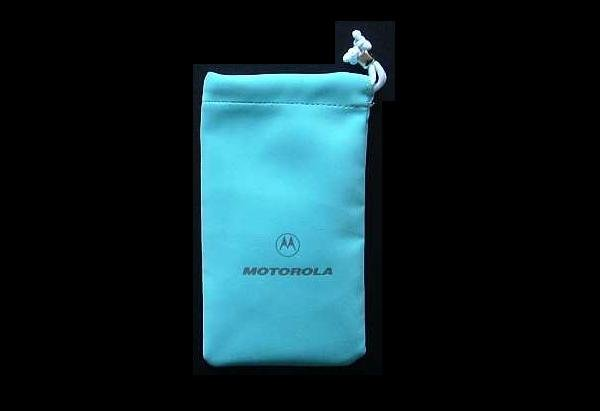 MOTOROLA LADIES MOBILE TELEPHONE PURSE CASE LIGHT BLUE