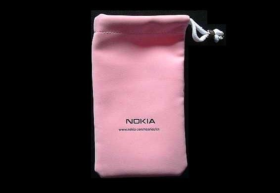 NOKIA LADIES MOBILE TELEPHONE PURSE CASE PINK