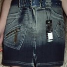 ZARA LIFE LABEL DENIM SKIRT SIZE 10 SMALL NEW AND PERFECT
