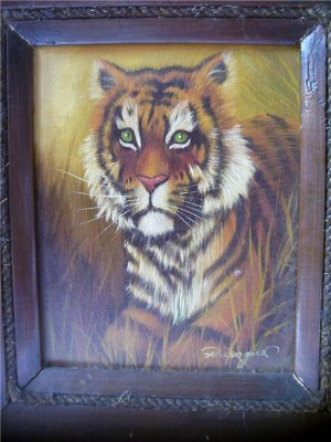 Original Oil Painting by Wagner