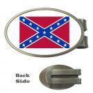 CONFEDERATE BATTLE FLAG MONEY CLIP