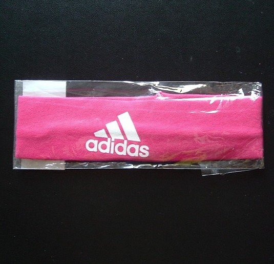 ADIDAS SPORTS ELASTICATED HEAD BAND (MAROON)