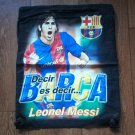 LEONEL MESSI BARCELONA FOOTBALL BACKPACK SPORTS KITBAG
