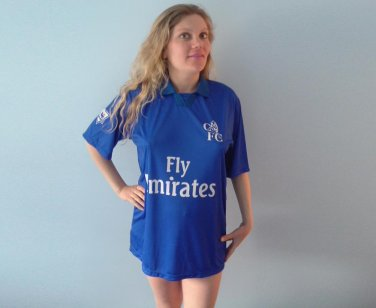 CHELSEA  JOE COLE  10 FLY EMIRATES FOOTBALL SHIRT XXL