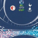 SLAVIA PRAGUE TOTTENHAM HOTSPURS UEFA CUP FOOTBALL PROGRAMME 2006