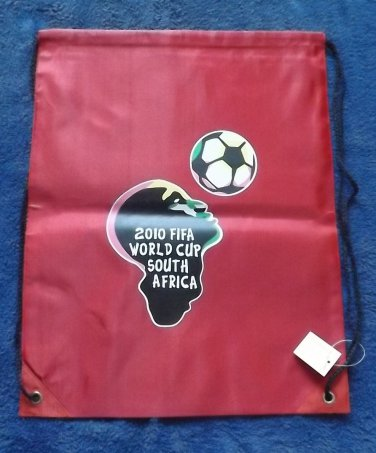 SOUTH AFRICA FIFA WORLD CUP 2010 FACE OF AFRICA WATERPROOF BACKPACK KITBAG