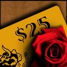 $25 Bar Ferdinand Gift Card