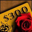 $300 Bar Ferdinand Gift Card