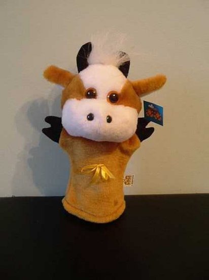 DAISY THE COW CHILDRENS CHARACTER GLOVE PUPPET