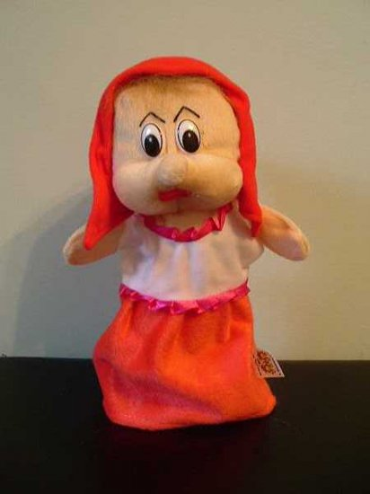 LITTLE RED RIDING HOOD CHILDRENS CHARACTER GLOVE PUPPET
