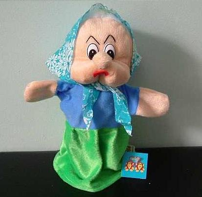 GRANNY GRANDMOTHER CHILDRENS CHARACTER GLOVE PUPPET