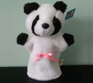 PETER THE PANDA CHILDRENS CHARACTER GLOVE PUPPET