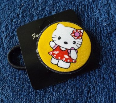 HELLO KITTY BEAUTIFUL HAIR BAND IN BRIGHT YELLOW